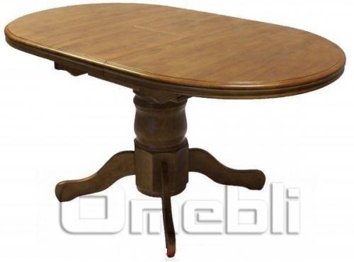 Стол обеденный А17 светлое дерево A9937