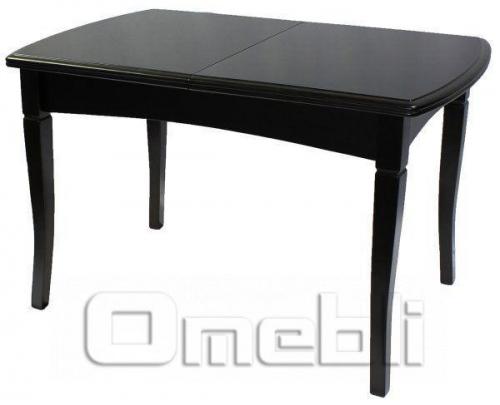 Стол обеденный А28 темное дерево A9943