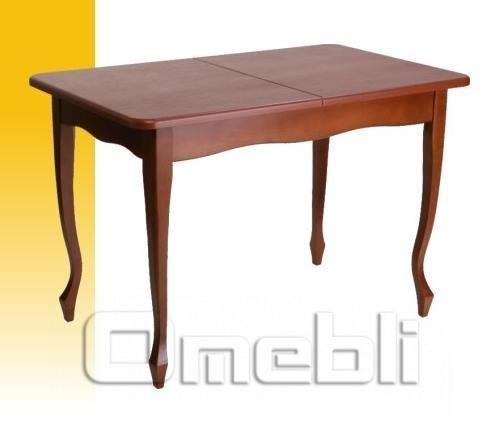Стол обеденный Кабриоль яблоня темная A9928