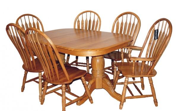 Стол обеденный раскладной 4296-3, 106/240х106х75см, 2 вставки по 400 мм.