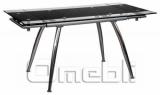Стол обеденный раскладной B-179 черный A10082
