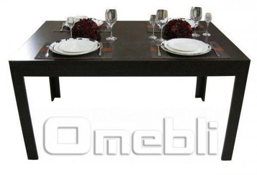 Стол обеденный UK-410   зебрано A10446