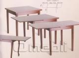 Стол обеденный Жанет орех лесной 70х80(110/147) A9892