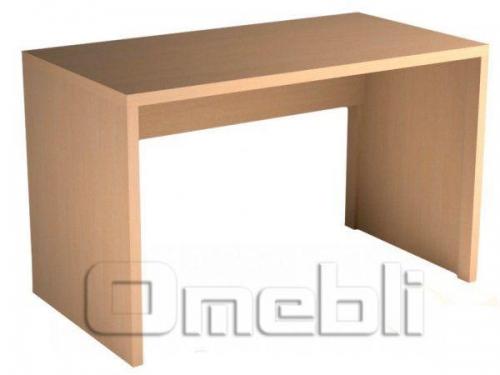 Стол письменный UK -104  дуб молочный A10418