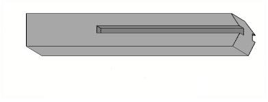 Столб для бетонного забора 1,5 м