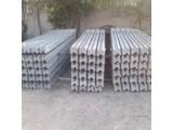 Столб для секционного бетонного забора 1,5 м