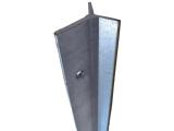 Фото  1 У-образный столб Казачка 2м. Металлический столб для сетки 2150405