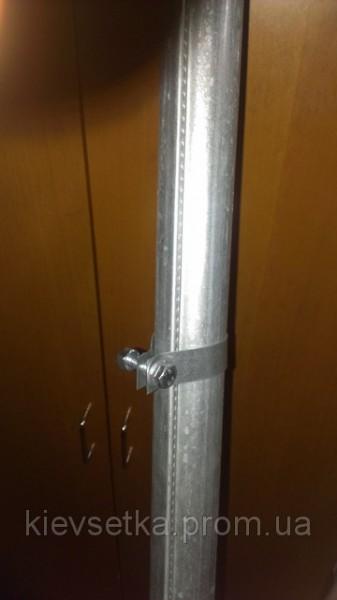 Столбики оцинкованные для ограждений . Н=2800мм