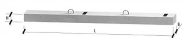 Столбики СТ-25 размер 2500х110/125х120мм