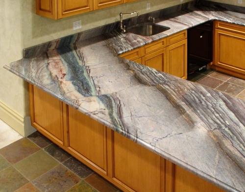 Столешница для кухни из кварцита