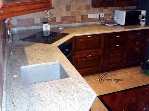 Столешница гранитная для кухни 3