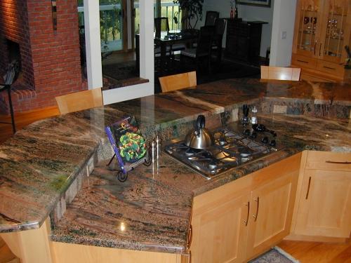 Столешница из натурального камня- мрамор, гранит, травертин. Замеры, изготовление, монтаж.