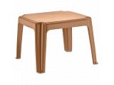 Фото  2 Столик для шезлонга Irak Plastik 45x45 тик 2027373