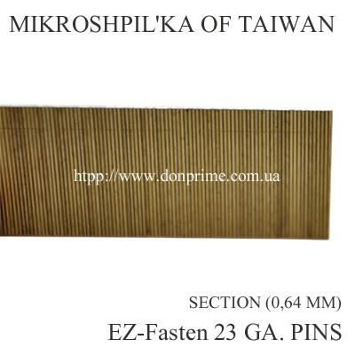 Столярная микрошпилька для пневмопистолета Тип-Р6