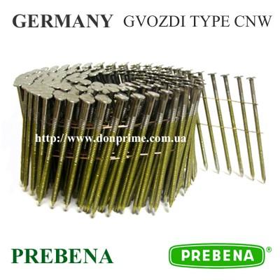 Столярный гвоздь Тип-CNW для пневмопистолета