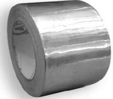 Стрічка алюмінієва 50х50мм, 75х50мм, неармована, армована