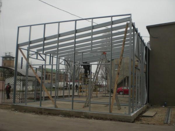 Строительство аграрного комплекса и других быстровозводимых обьектов