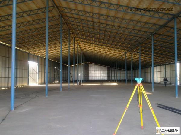 Строительство ангаров, складов и зернохранилищ.