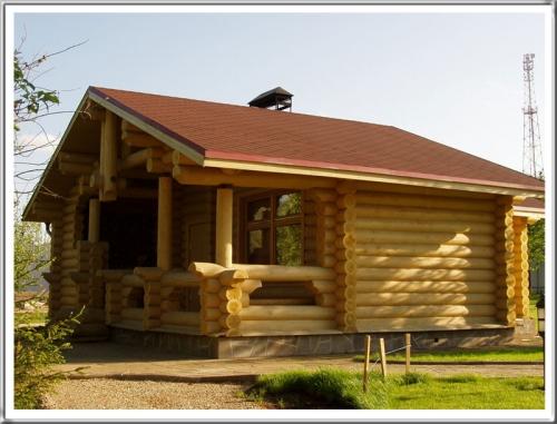 Строительство бань, саун из сосны (Черниговская обл. ) под ключ, включая мебель для парной и комнаты отдыха.