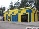 Фото  1 Строительство быстровозводимых гаражей 2150969