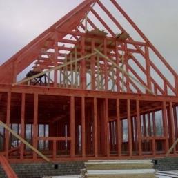 Строительство быстровозводимых зданий. Каркасных домов.