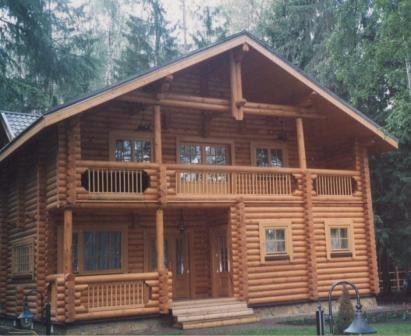 """Строительство деревянных домов, коттеджей, бань """"под ключ"""""""