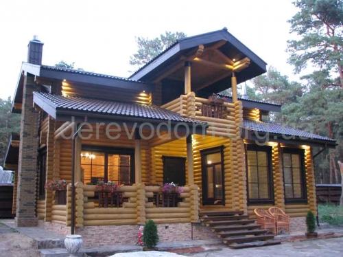 Строительство деревянных домов коттеджей из бревна, бруса, сруба