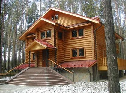 Строительство деревянных домов в Киеве под ключ.