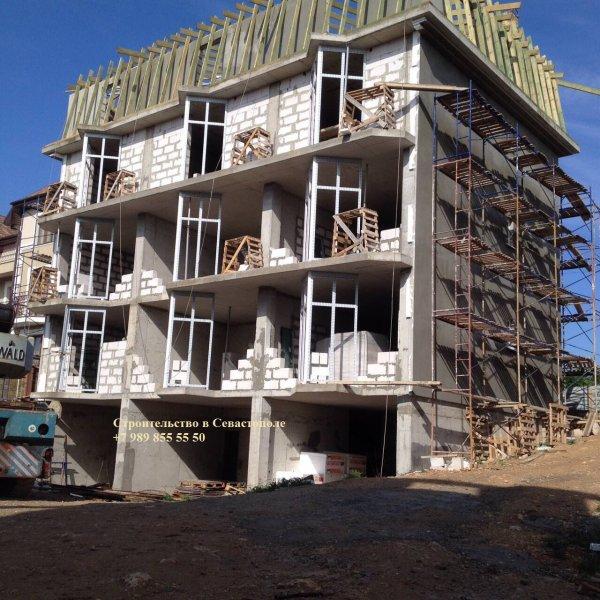 Фото 1 Строительство домов в Севастополе (ракушка, газобетон, кирпич) 334391