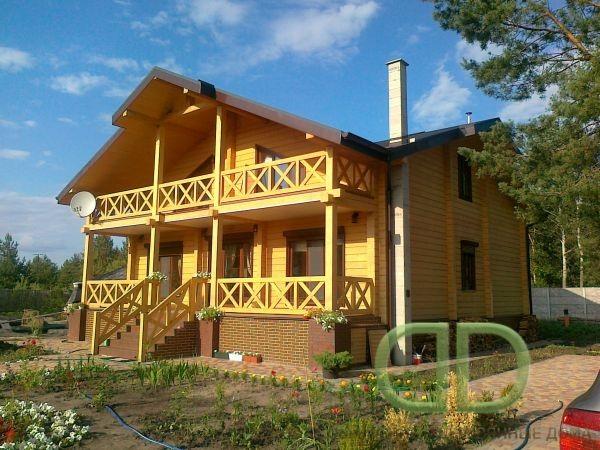 Строительство домов, коттеджей, бань, саун из клееного бруса собственного производства. Цена. Качество. Опыт.