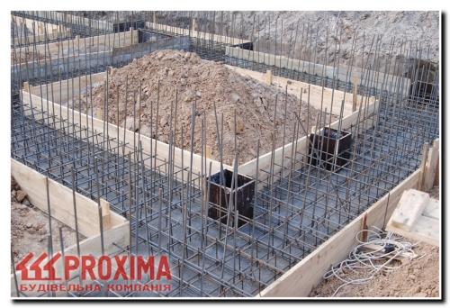 Строительство фундамента дачи Киев