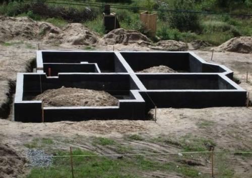 Строительство фундамента дома Киев