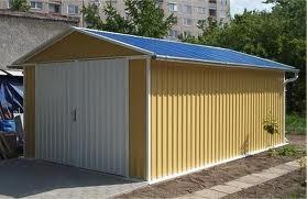 Строительство гаражей и гаражных кооперативов из сендвич панелей.