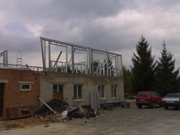 Строительство и проектирование ангаров из ЛСТК.