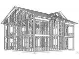 Фото  1 Строительство каркасного дома по технологии ЛСТК 2151098
