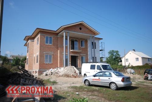 Строительство коробки дома Киев