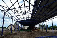 Фото  1 Строительство навеса для с/г техники. 1422970