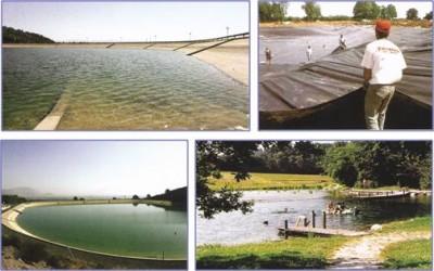 Строительство, очистка озер, ландшафтный дизайн