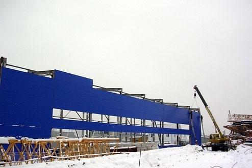 Строительство промышленных объектов и зданий