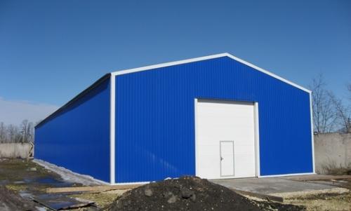 Строительство промышленных зданий под ключ из сэндвич панелей. От производителя, по низким ценам.