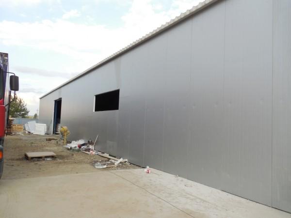 """Строительство складского помещения """"под ключ""""."""