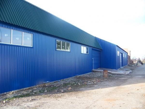 Строительство складского помещения.