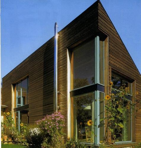 Строительство современных каркасных домов в стиле БАУХАУС
