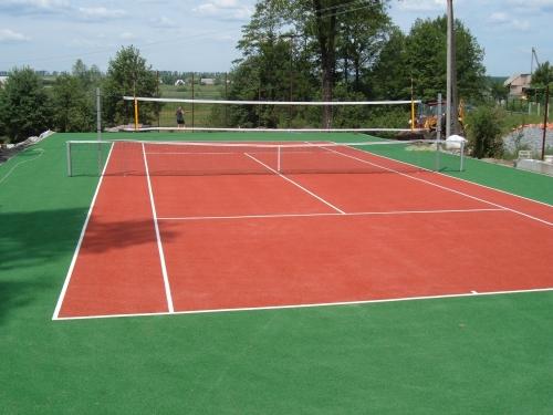 Строительство спортивных площадок для всех видов спорта.