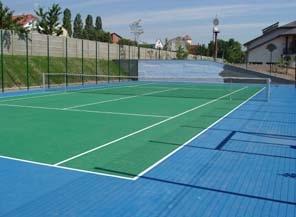 """Строительство теннисных кортов с покрытием хард. Лучшее в Европе покрытие типа """"хард"""" начиная с 1970 года."""