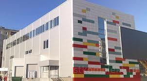 Строительство торгово-промышленных комплексов из сендвич панелей.