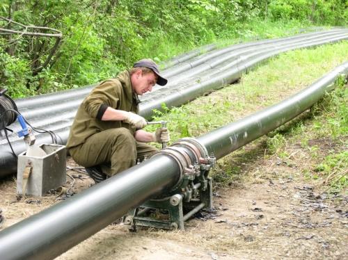 Строительство трубопроводов из полиэтиленовых труб: водопровода, канализации