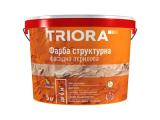 Фото  1 Краска структурная акриловая ТМ Triora, 15 кг 628827