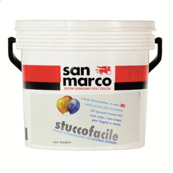 Stuccofacile (Италия) Штукатурка на основе микросфер стекла для создания супер крупного рельефа. Белая.
