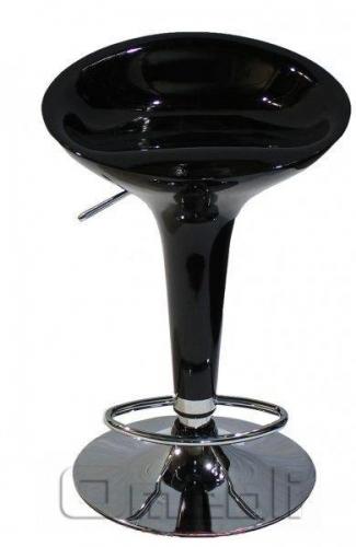 Стул барный SX-1215 Пластик черный A9213